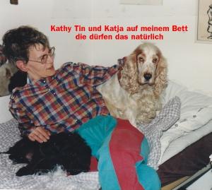 Kathy mit Tin und Devil