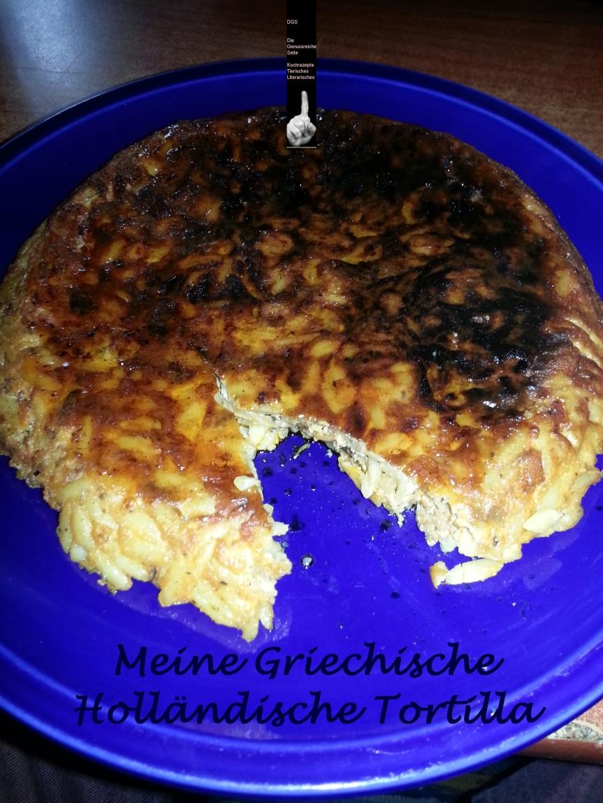 Tortilla Niederländiche Griechische Nation ausLimburg